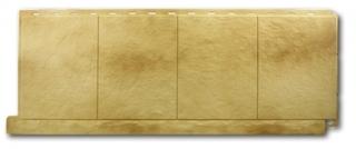 Цокольный сайдинг Альта-Профиль Коллекция Фасадная плитка Травертин