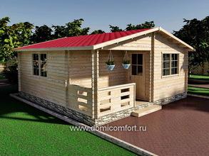 Домик садовый 6000х6000