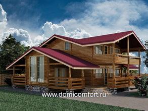 Пристройка к дому с двухскатной крышей 8х4