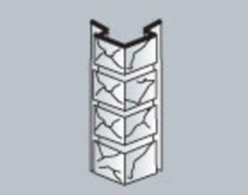 Цоколь сайдинг Альта-Профиль наружный угол камень